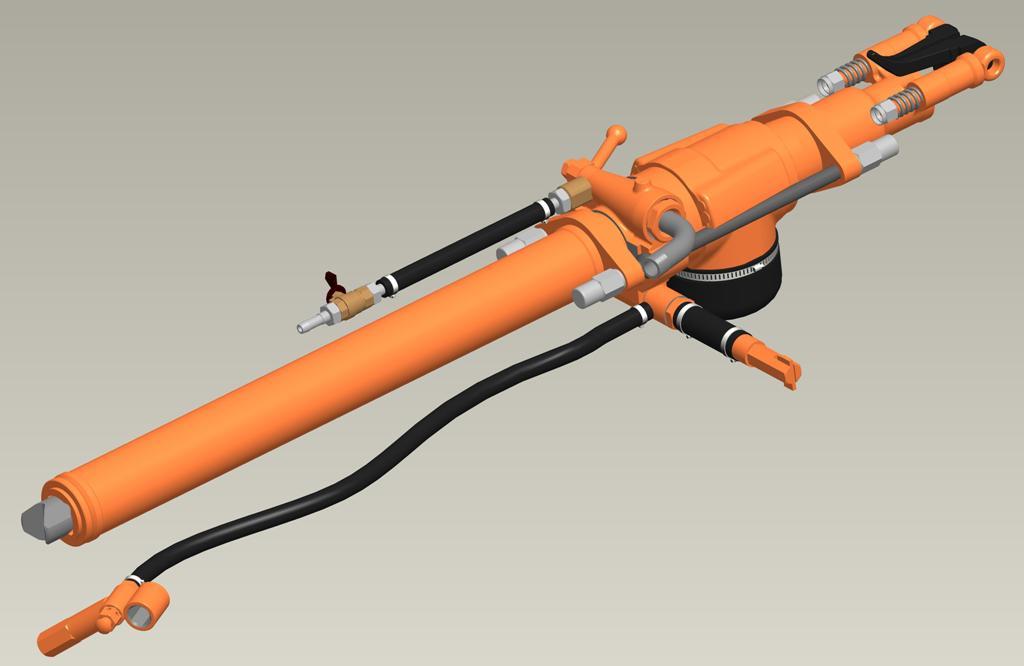 Перфоратор телескопный ПТ-36