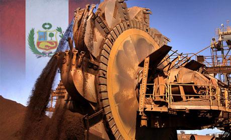 В Перу подсчитали приток инвестиций в горнорудную промышленность